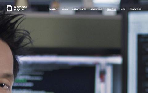 Screenshot of Jobs Page demandmedia.com - Demand Media � Careers - captured Jan. 13, 2016