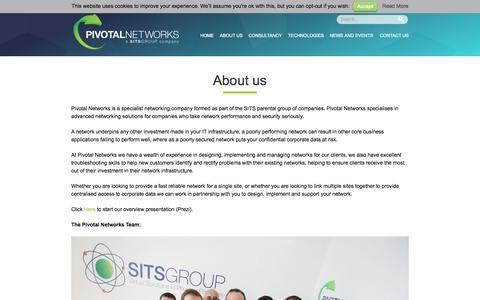 Screenshot of pivotalnetworks.co.uk - About us | Pivotal Networks - captured Sept. 27, 2015