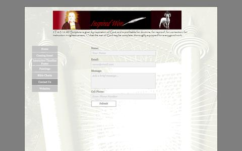 Screenshot of Contact Page businesscatalyst.com - Contact Us - captured Sept. 17, 2014