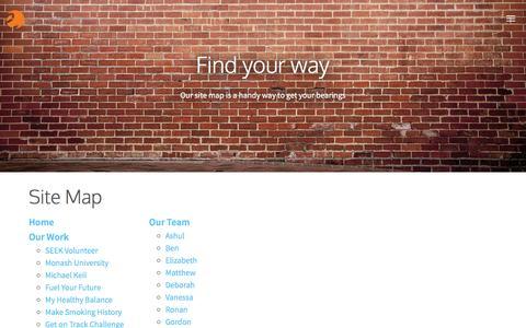 Screenshot of Site Map Page eduka.com - Eduka — Site Map - captured July 11, 2016