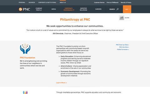 PNC - Philanthropy at PNC