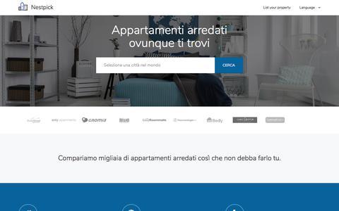 Appartamenti arredati e stanze - cerca, compara e affitta   Netspick