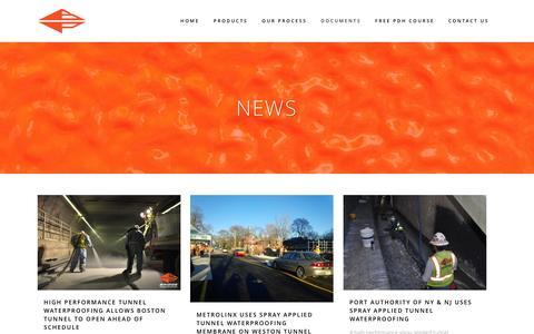 Screenshot of Press Page bridgepreservation.com - Bridge Preservation LLC.   News - Bridge Preservation LLC. - captured Feb. 8, 2016