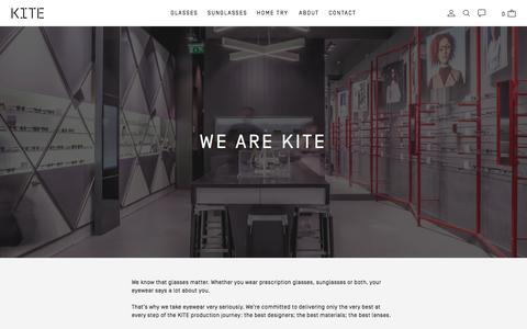 Screenshot of About Page kitegb.com - About Us - KITE - captured June 9, 2017