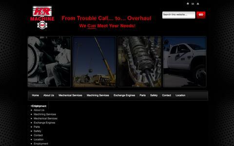 Screenshot of Site Map Page hr-machine.com - Crankshaft Inspection | Connecting Rod Reconditioning Texas | H&R Machine Inc. - captured Oct. 1, 2014