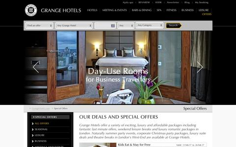London Hotel Offers | Romantic Weekend Packages London