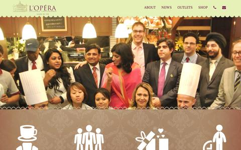 Screenshot of Jobs Page loperaindia.com - Careers - L'Opéra - captured Feb. 10, 2016