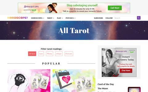All Tarot Readings | Horoscope.com