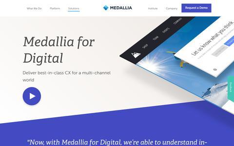Enterprise Feedback Management Solution | Medallia