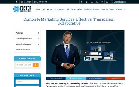Web Marketing Services Attorneys & Doctors | Foster Web Marketing