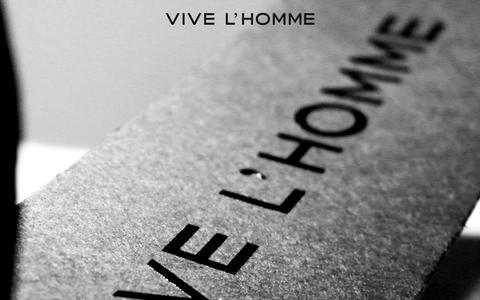 Screenshot of Home Page vivelhomme.com - VIVE L'HOMME | New standard for men - captured Oct. 7, 2014