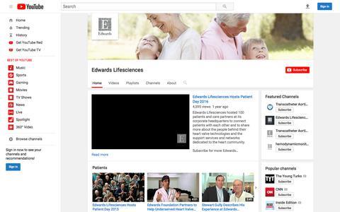 Edwards Lifesciences  - YouTube