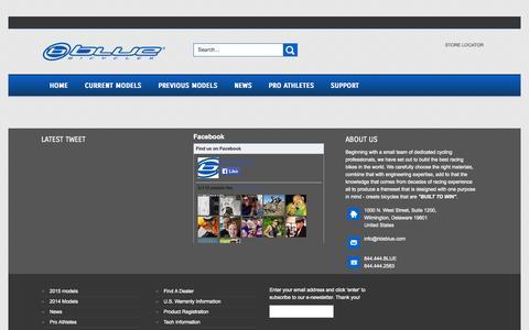 Screenshot of Login Page rideblue.com - RideBlue - captured Sept. 22, 2014