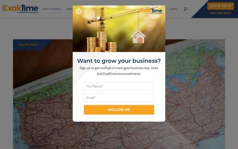 Screenshot of Blog exaktime.com - Blog   ExakTime - captured June 19, 2019