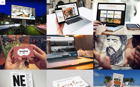 Screenshot of Home Page bbbstudio.it - Home - BBB Studio - captured Sept. 19, 2015