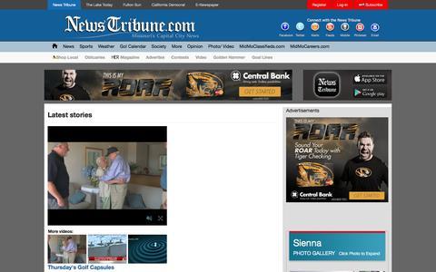 Screenshot of Press Page newstribune.com - Latest stories | News Tribune - captured Feb. 11, 2016