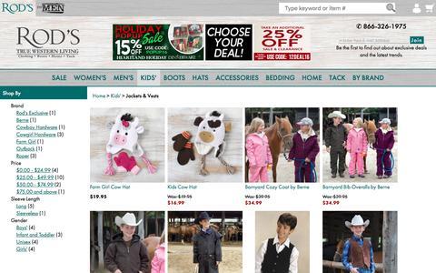 Kids' Western Outerwear