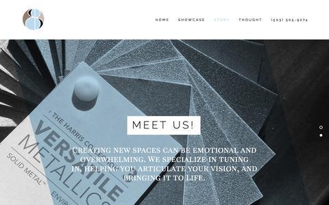 Screenshot of Team Page spectacular-design.com - Story — Spectacular Design Interior Designers | Interior Design Portland Oregon - captured Sept. 21, 2018
