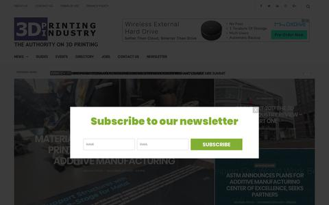 3D Printing Industry-The Authority on 3D Printing & Additive Manufacturing
