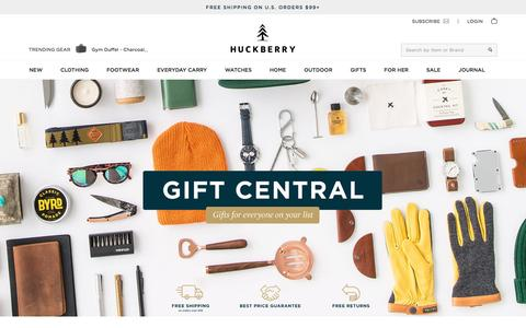 Holiday Gift Ideas | Huckberry