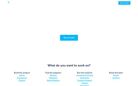 Screenshot of Jobs Page transferwise.com - It's not just a job - TransferWise - captured June 2, 2018