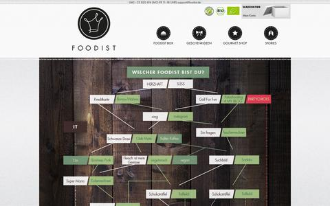 Screenshot of Jobs Page foodist.de - Jobs | Foodist – Hochwertige Delikatessen entdecken! - captured Sept. 16, 2014