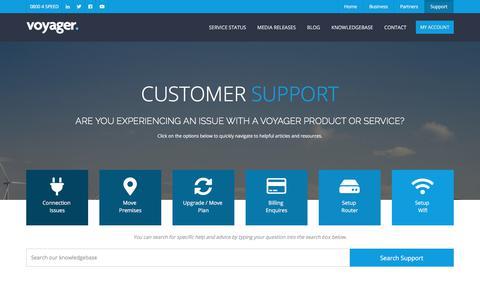 Customer Support | VoyagerNZ