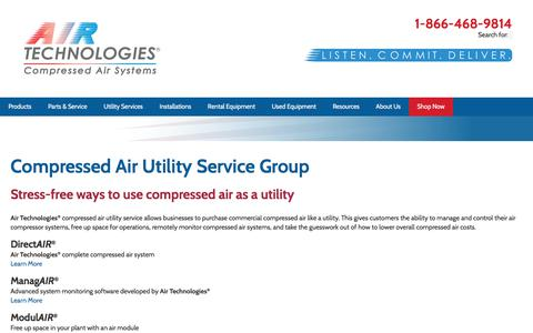 Compressed Air Utility Service | Air Technologies®