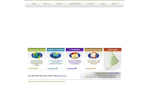 Screenshot of Home Page ombakassociates.com - Ombak Associates - eBusiness Partner - captured Sept. 30, 2014