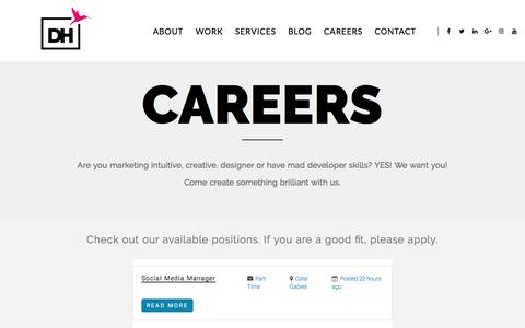Careers at Design House a boutique full-service digital agency