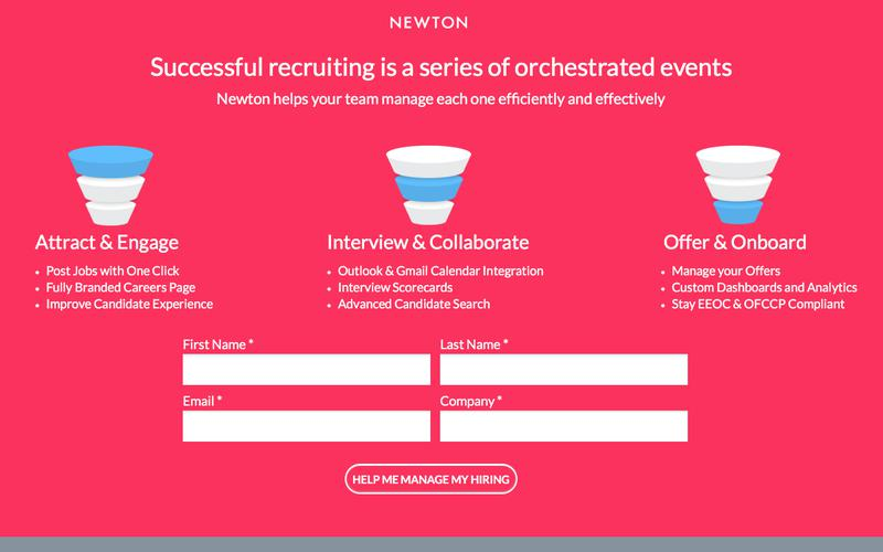 Newton Software | Applicant Tracking System & Recruiting Software