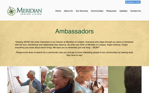 About Meridian Senior Living | Meridian Senior Living