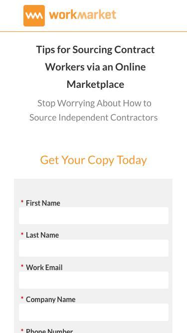 Top Tips for Sourcing Freelancers - WorkMarket