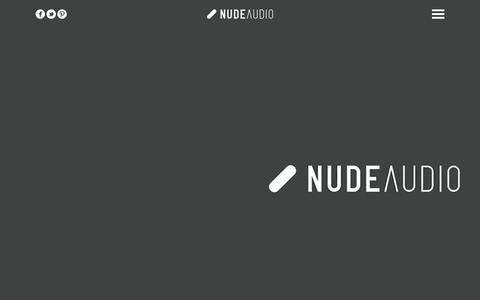 Screenshot of Home Page nudeaudio.com - NudeAudio   Super-M - captured Feb. 3, 2016