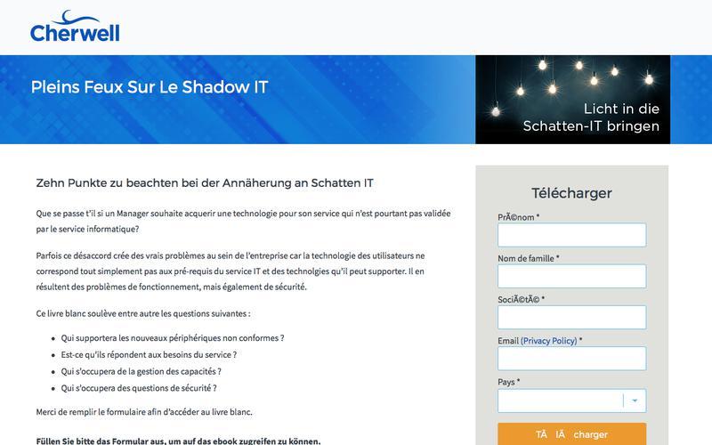 eBook | PLEINS FEUX SUR LE SHADOW IT