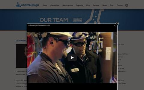 Screenshot of Team Page chemdesign.com - Chemical Careers   Research Chemicals   Chemical Engineering   SOCMA   Chemistry Careers   ChemDesign - captured Dec. 8, 2015