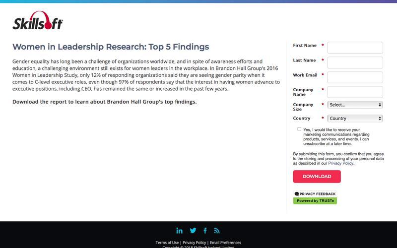 Women in Leadership Research: Top 5 Findings
