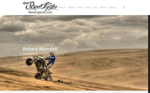 Screenshot of About Page streetfightermotorsports.com - About The Owner - StreetFighter Motorsports - captured Oct. 7, 2014