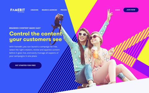 Self-Service Influencer Marketing Platform