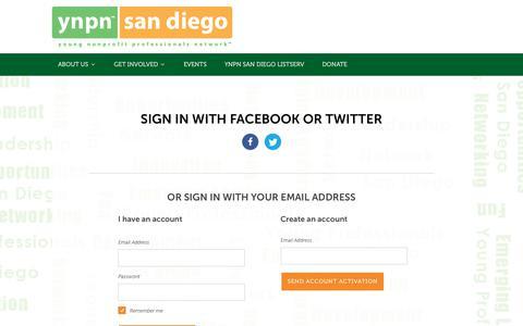 Screenshot of Login Page nationbuilder.com - Sign in - captured July 26, 2018