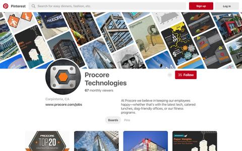 Procore Technologies (procorejobs) on Pinterest