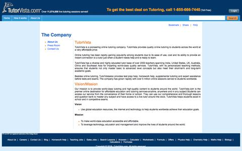 TutorVista.com - About Us