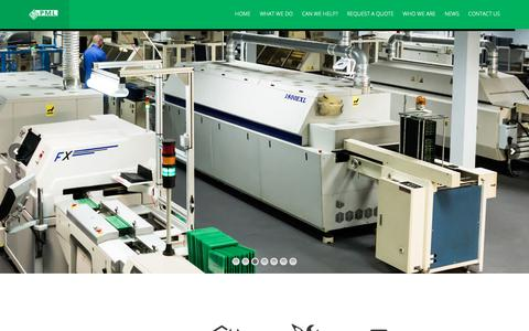 Screenshot of Home Page precision-mfg.co.uk - Precision-MFG – Better Built In Britian - captured Sept. 29, 2018