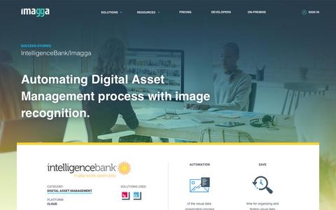 Screenshot of Case Studies Page imagga.com - Case-study: Automating Digital Asset Management process with Image Recognition. | Imagga Technologies Ltd. - captured June 21, 2018