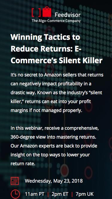 Winning Tactics to Reduce Returns: E-Commerce's Silent Killer