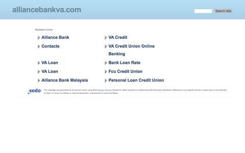 alliancebankva.com-alliancebankva Resources and Information.