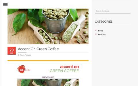 Screenshot of Press Page artiste.us.com - Supplier of Flavors, Essences, Fragrances & Ingredients | Glen Rock, NJ | Artiste - captured Oct. 8, 2017