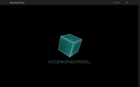 Screenshot of Home Page workingpixel.com - Working Pixel - captured Sept. 30, 2014