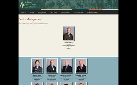 Screenshot of Team Page forestinvest.com - People - Forest Investment Associates - captured Feb. 10, 2016