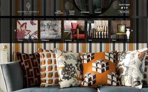 Screenshot of Products Page gastonydaniela.com - Products   Gastón y Daniela - captured Nov. 1, 2014